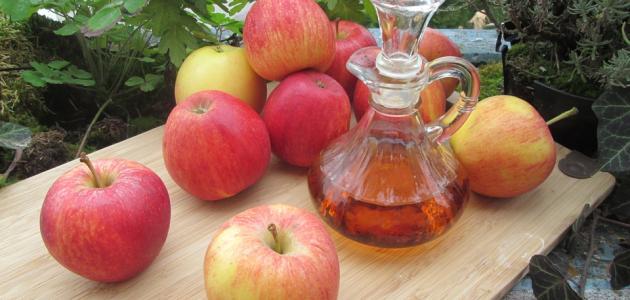 أضرار خل التفاح للبشرة