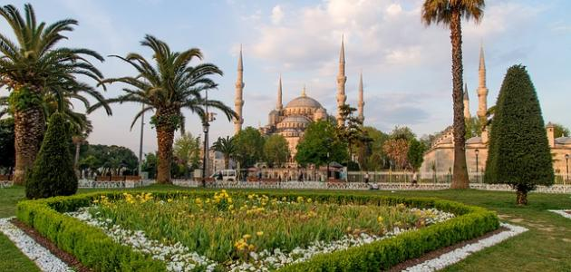 أجمل الحدائق في إسطنبول