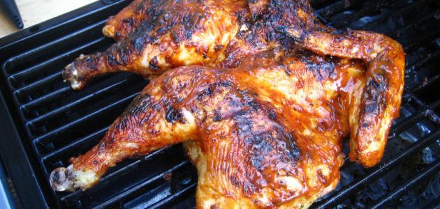 كيفية شوي الدجاج