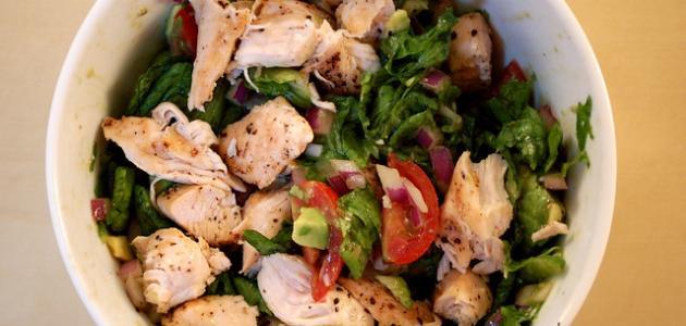 أطباق مختلفة من صدور الدجاج