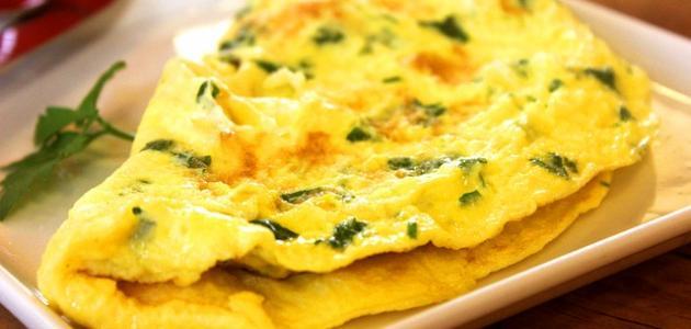 أطباق يدخل في تكوينها البيض