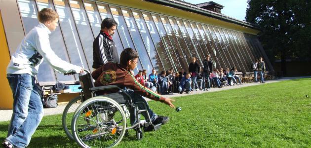 حقوق ذوي الاحتياجات الخاصة في التعليم