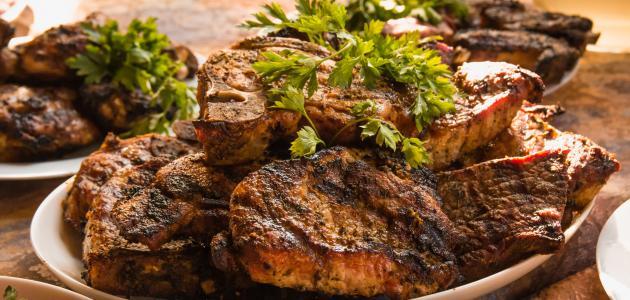 أفضل خلطة لشوي اللحم