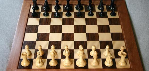 ترتيب الشطرنج