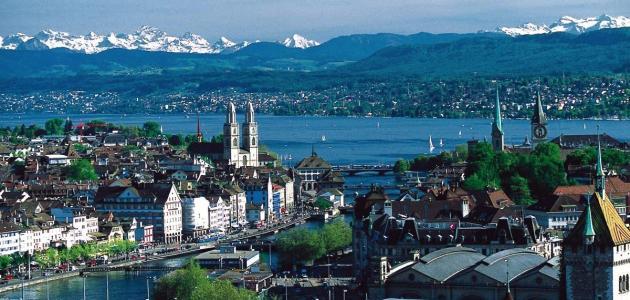 أكبر مدينة بسويسرا من حيث السكان