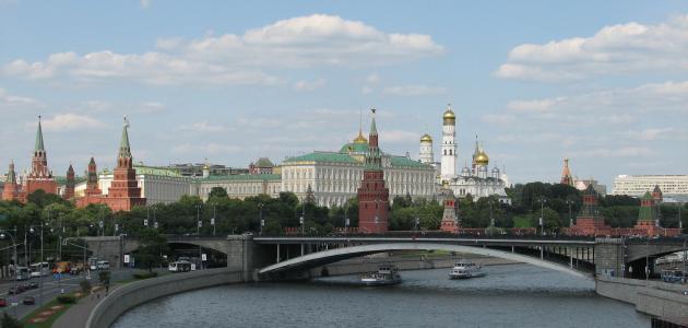 أسماء مدن روسيا