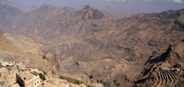 تضاريس اليمن