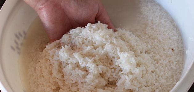 أهمية ماء الأرز للبشرة