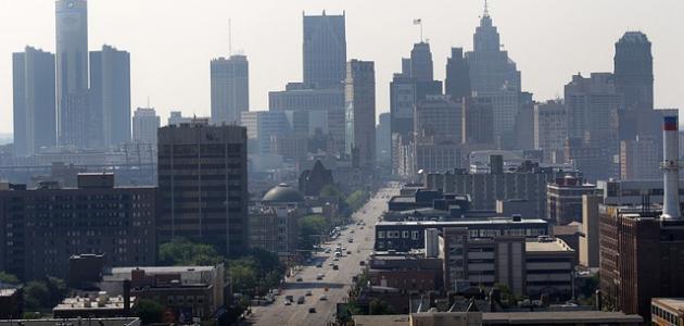 أكبر مدينة في ولاية ميشيغان