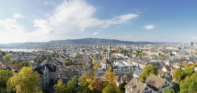 أكبر مدينة سويسرية من حيث عدد السكان