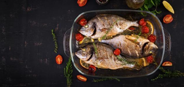 طريقة عمل سمك مشوي