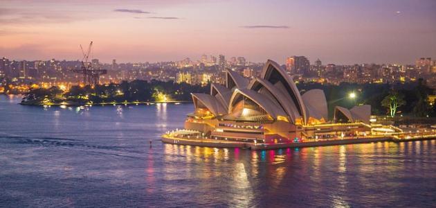 أكبر مدن أستراليا وليست العاصمة