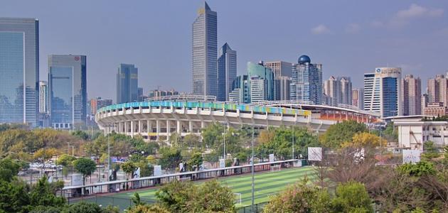 أكبر مدن الصين