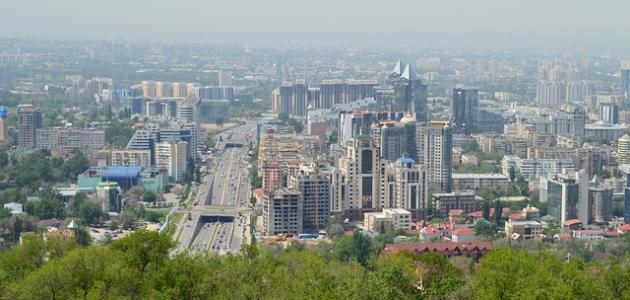 أكبر مدينة في كازاخستان