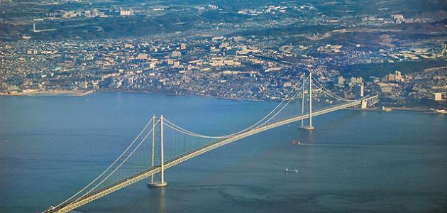 أكبر جسر معلق فى العالم