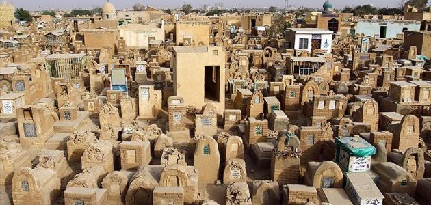 أكبر مقبرة بالعالم