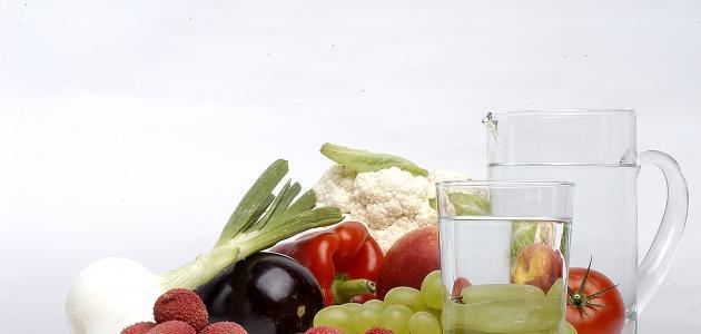 أضرار شرب الماء بعد الأكل