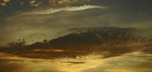 آخر طبقات الغلاف الجوي