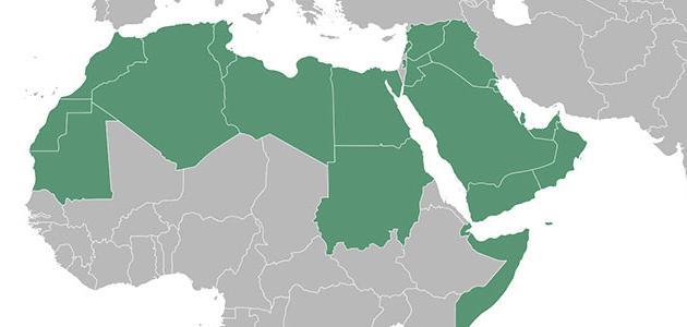 بحث عن تضاريس الوطن العربى