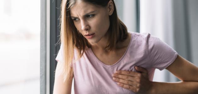 ألم الثدي الأيسر