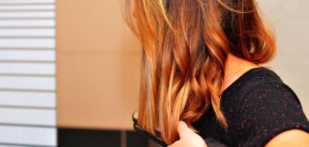 أفضل طريقة للف الشعر