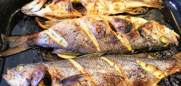 أفضل طريقة لعمل سمك القاروص