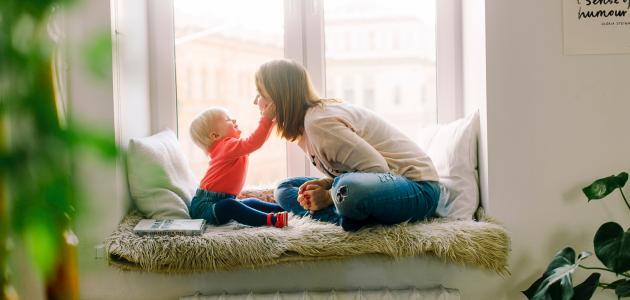 النمو اللغوي للطفل