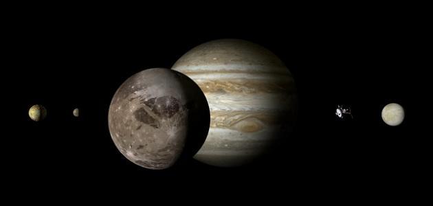 أكبر قمر في المجموعة الشمسية