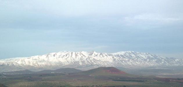 ارتفاع جبل الشيخ