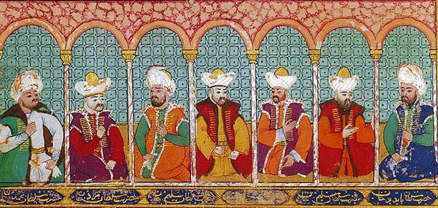 كم عدد خلفاء الدولة العثمانية