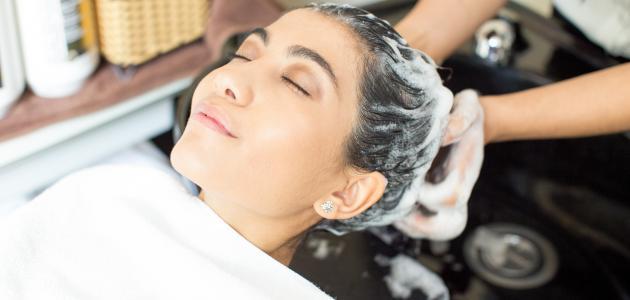 التخلص من تزييت الشعر