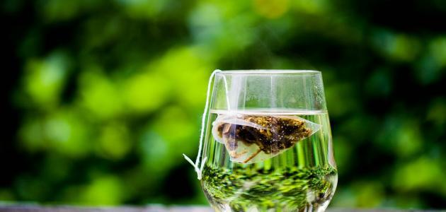 أضرار شرب الشاي الأخضر