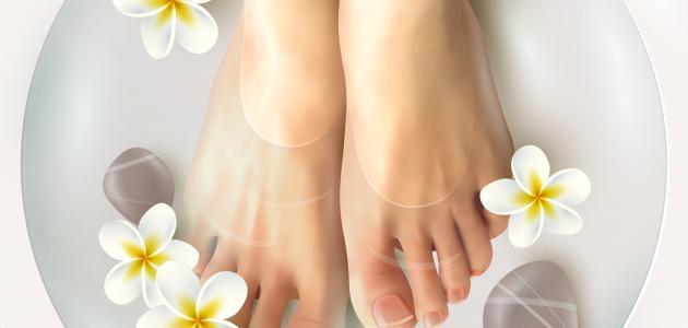 أفضل علاج لرائحة القدمين