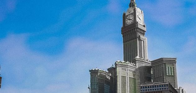 ارتفاع برج الساعة