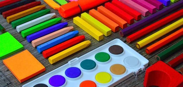 ما هي الألوان الثانوية