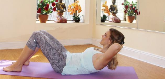 أفضل طريقة لتقوية عضلات البطن