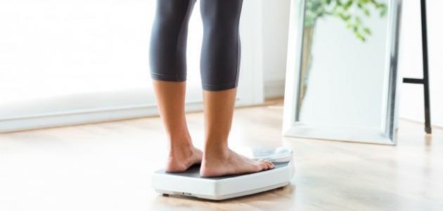 أسباب ثبات الوزن وعدم زيادته