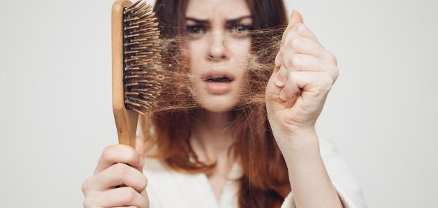 العناية بتساقط الشعر