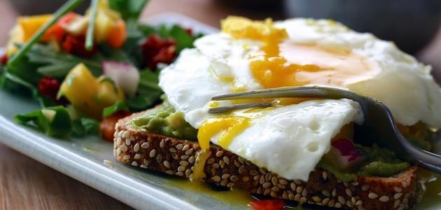 أطباق البيض