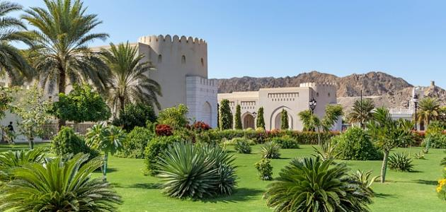 أسماء مدن في عمان - موضوع