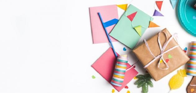 أفكار هدايا للأطفال في الروضة