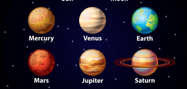 كيف سميت الكواكب بأسمائها الحالية