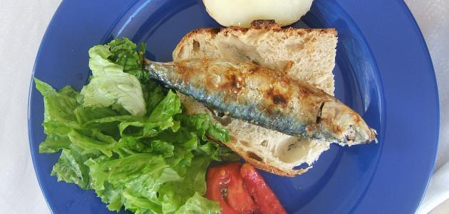 أطباق السمك السردين