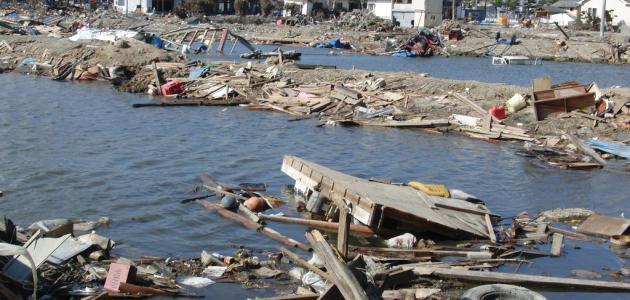 أضرار زلزال اليابان