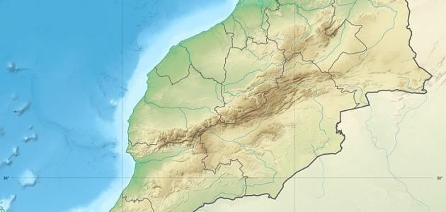 بحث عن خريطة المغرب