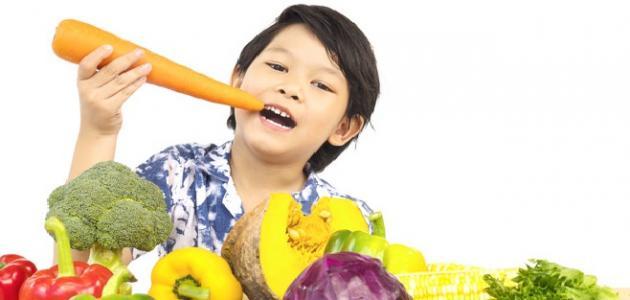 أطعمه تزيد من ذكاء الطفل