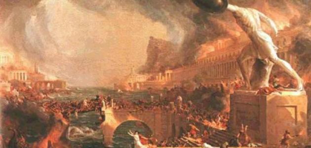 لماذا حرق نيرون روما