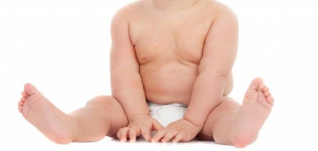السمنة عند الأطفال الرضع