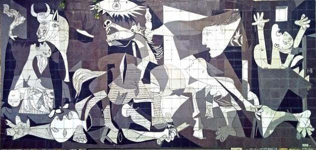 أهم أعمال الفنان بابلو بيكاسو