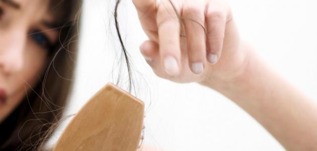 حلم تساقط الشعر